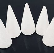 Материалы для творчества handmade. Livemaster - original item The foam cone, d 6 cm. Left 1 piece.. Handmade.