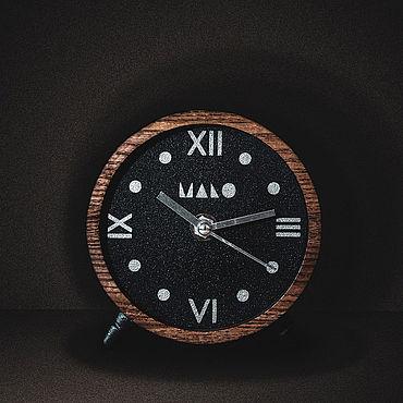 Для дома и интерьера ручной работы. Ярмарка Мастеров - ручная работа Часы настольные деревянные. Handmade.