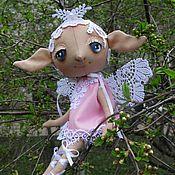 """ручной работы. Ярмарка Мастеров - ручная работа Текстильная кукла """"Вишневый эльф"""". Handmade."""