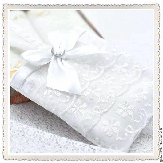 """Одежда и аксессуары ручной работы. Ярмарка Мастеров - ручная работа. Купить Свадебная сумочка """"Воздушная"""" свадбеный мешочек, белая сумочка. Handmade."""