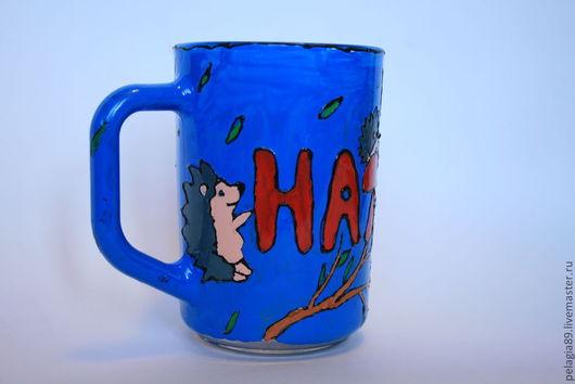 """Кружки и чашки ручной работы. Ярмарка Мастеров - ручная работа. Купить Именная кружка """"Наташа"""". Handmade. Кружка, кухонный набор"""