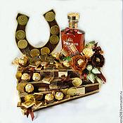 Сувениры и подарки ручной работы. Ярмарка Мастеров - ручная работа Лестница успеха из конфет 3. Handmade.