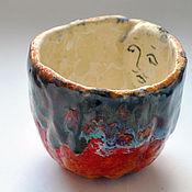 """Посуда ручной работы. Ярмарка Мастеров - ручная работа коллекция чашек """"чайные лица морские"""". Handmade."""