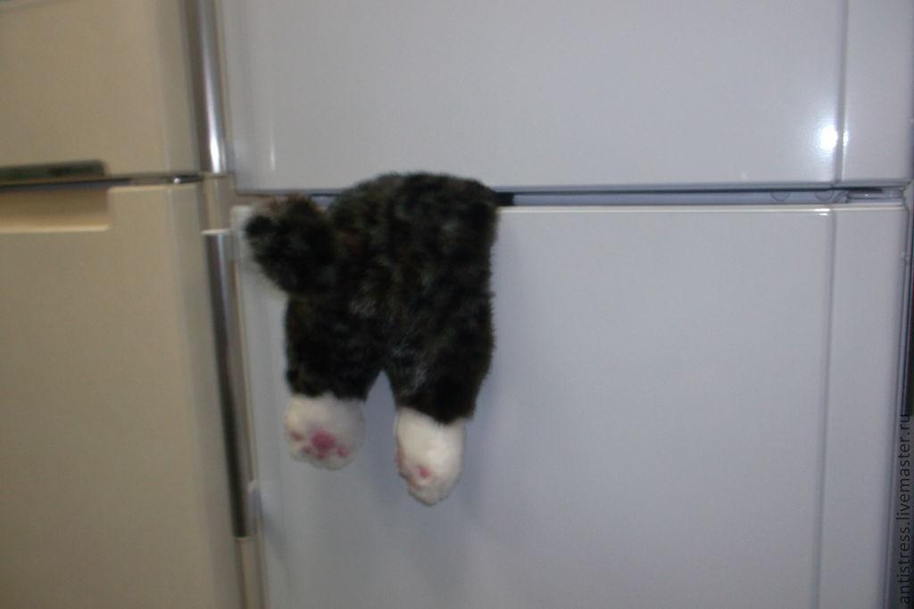 Застрявший кот своими руками