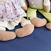 """Куклы и игрушки ручной работы. Ярмарка Мастеров - ручная работа """"Влюбленные зайки"""" -Ароматизированная авторская игрушка. Handmade."""