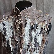 """Одежда ручной работы. Ярмарка Мастеров - ручная работа Жилет валяный """"Флисовый микс"""" войлок. Handmade."""