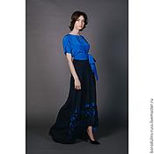 Одежда handmade. Livemaster - original item Maxi skirt