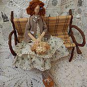 Куклы и игрушки ручной работы. Ярмарка Мастеров - ручная работа Тильда бохо Патриция. Handmade.