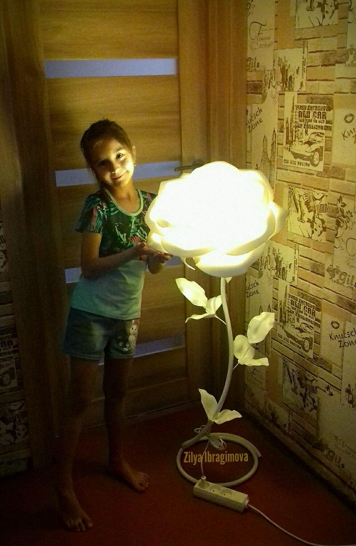 Торшер Роза напольный, Торшеры и напольные светильники, Салават,  Фото №1