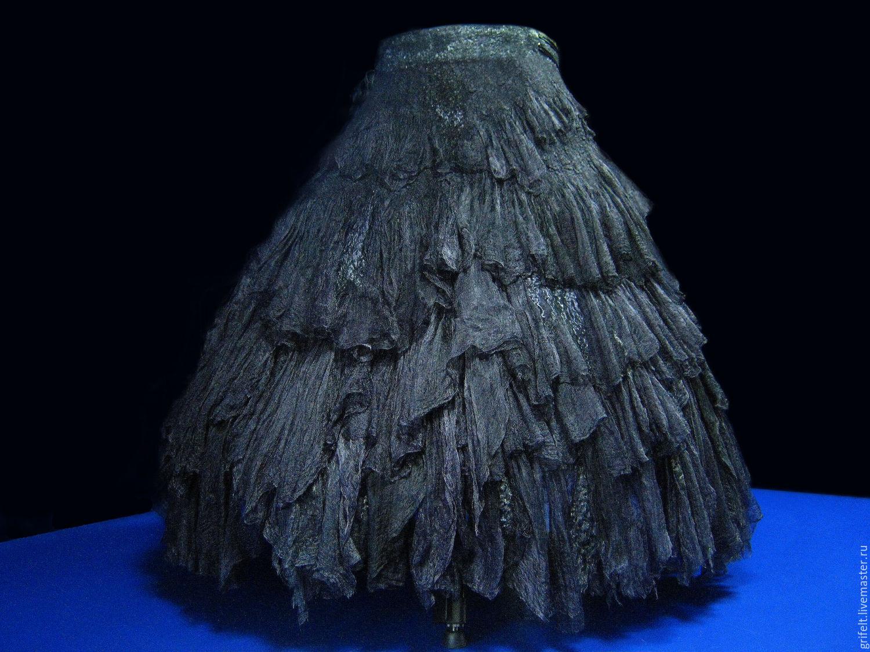 "Wraparound skirt boho black ""Niigata"", Skirts, Almaty, Фото №1"