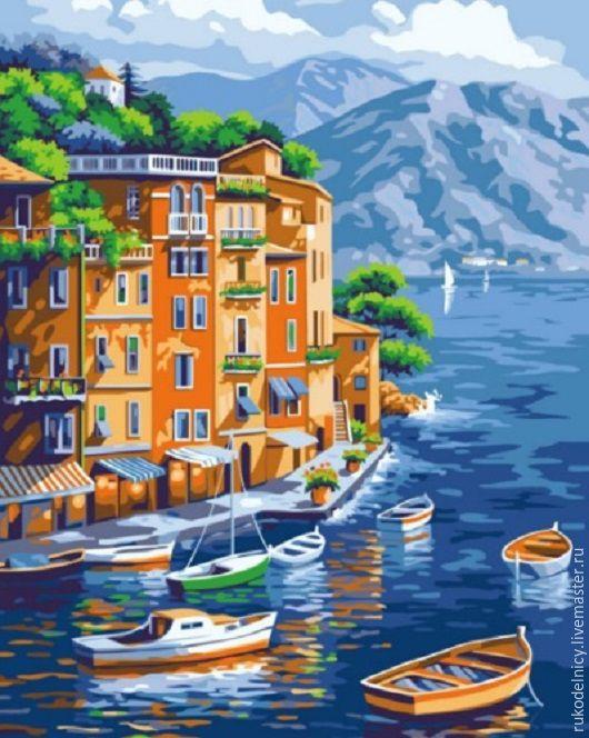 Набор для раскрашивания Море и лодки
