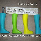 Инструменты для кукол и игрушек ручной работы. Ярмарка Мастеров - ручная работа Обувные колодки для Блайз (5 видов). Handmade.