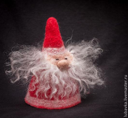 Подвески ручной работы. Ярмарка Мастеров - ручная работа. Купить Игрушка Гномик / Дед Мороз. Handmade. Дед мороз