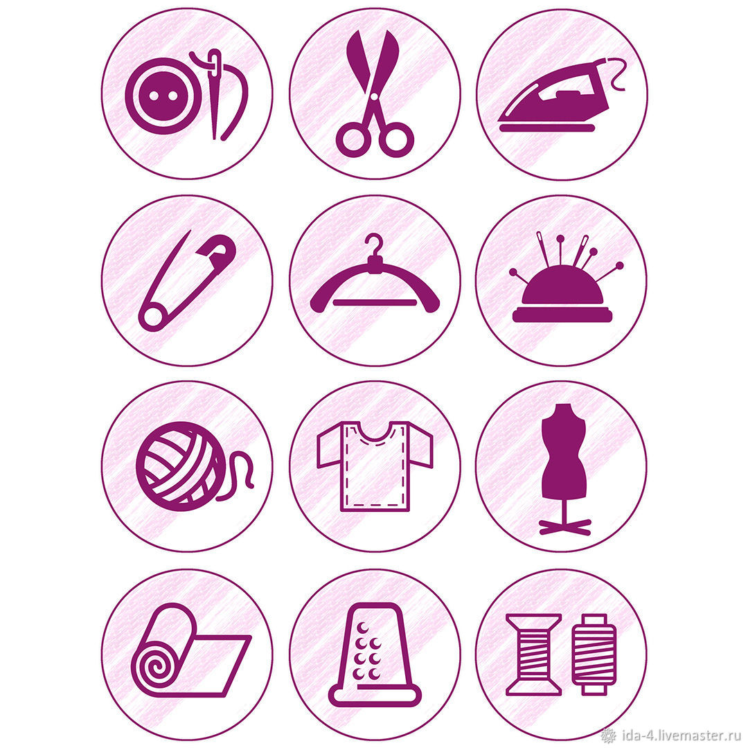 'Atelier ' Icons for instagram, Illustrations drawings, Permian,  Фото №1
