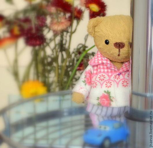 Мишки Тедди ручной работы. Ярмарка Мастеров - ручная работа. Купить Мишутка Поль. Мишка Тедди. Handmade. Бежевый