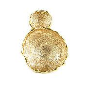 Украшения handmade. Livemaster - original item Large gold ring,unusual ring without inserts,exclusive. Handmade.