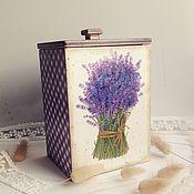 Для дома и интерьера ручной работы. Ярмарка Мастеров - ручная работа Лавандовый букет - короб для кухни. Handmade.