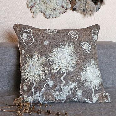 Stationery handmade. Livemaster - original item Decorative pillow case. Handmade.