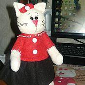 Куклы и игрушки ручной работы. Ярмарка Мастеров - ручная работа Кот из флиса. Handmade.