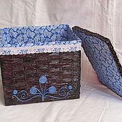 Для дома и интерьера ручной работы. Ярмарка Мастеров - ручная работа коробы. Handmade.