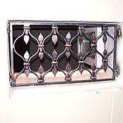 Для дома и интерьера ручной работы. Ярмарка Мастеров - ручная работа Кованая решетка. Handmade.