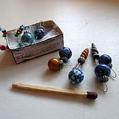 Куклы и игрушки ручной работы. Ярмарка Мастеров - ручная работа Ёлочные игрушки для кукол и кукольной ёлки. Handmade.