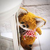 Куклы и игрушки ручной работы. Ярмарка Мастеров - ручная работа Хитрый лисенок. Handmade.