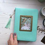 Канцелярские товары handmade. Livemaster - original item Diary undated. Handmade.