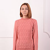 Одежда handmade. Livemaster - original item Women`s sweater - strawberry. Handmade.