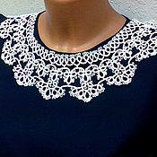 Аксессуары handmade. Livemaster - original item Lace collar