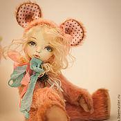 Куклы и игрушки ручной работы. Ярмарка Мастеров - ручная работа Мышка Олли,тедди-долл. Handmade.