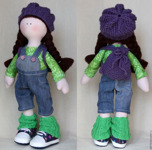 Человечки ручной работы. Ярмарка Мастеров - ручная работа. Купить Интерьерная кукла.Текстильная кукла.. Handmade. Хенд мейд игрушка