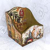 Для дома и интерьера handmade. Livemaster - original item Box for spices Oliva. Handmade.