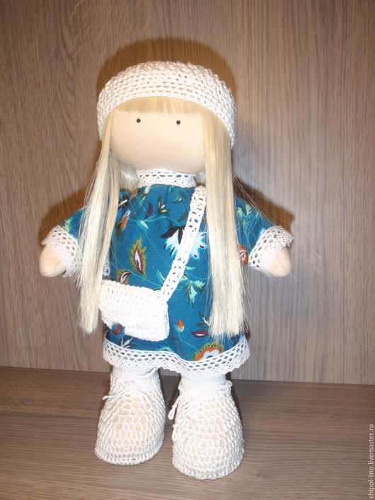 Коллекционные куклы ручной работы. Ярмарка Мастеров - ручная работа. Купить Текстильная кукла. Игровая кукла со сменной одеждой. Коллекционная.. Handmade.