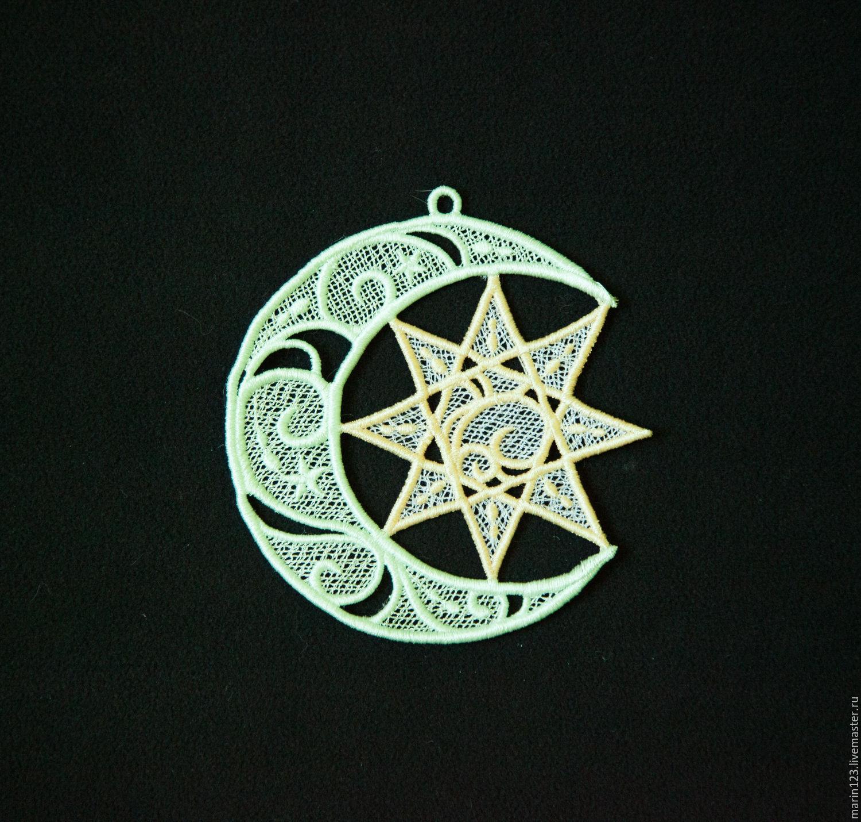 The Crescent and the star interior pendant, Pendants for pots, Samara,  Фото №1