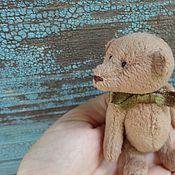 Куклы и игрушки ручной работы. Ярмарка Мастеров - ручная работа мишка Пряник. Handmade.