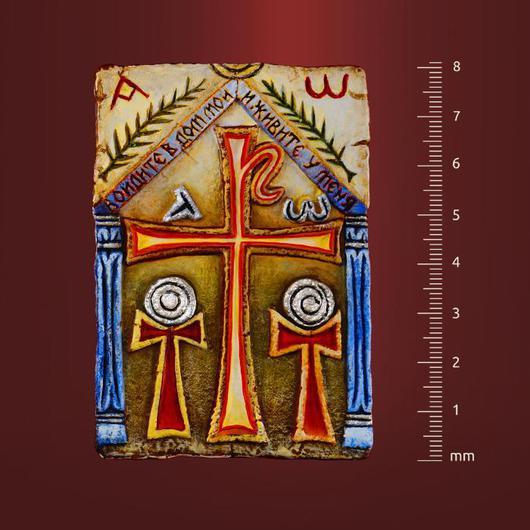 """Подарки на Пасху ручной работы. Ярмарка Мастеров - ручная работа. Купить Плакетка для прихожей - """"Войдите в дом мой"""". Handmade. Миниатюра"""