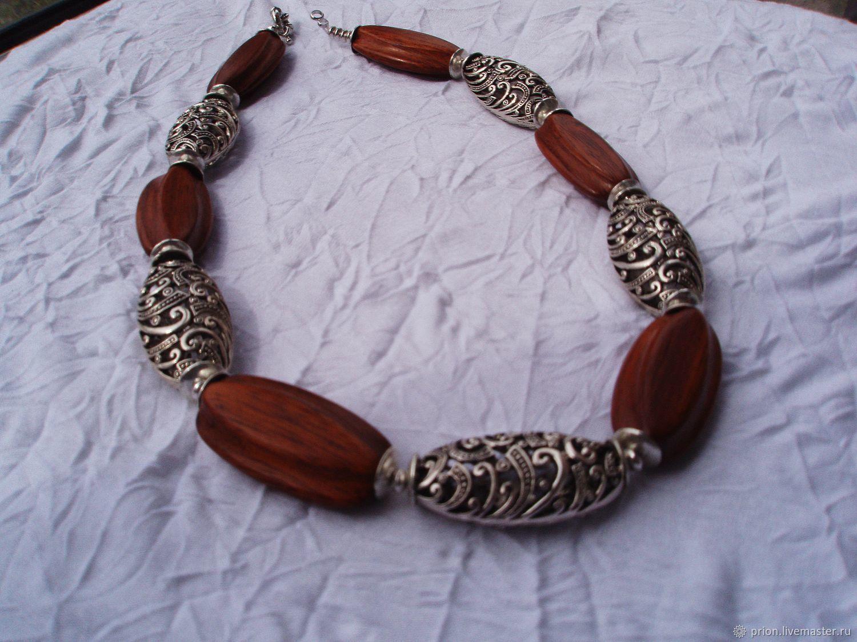Beads 'Silver age', Necklace, Krasnoyarsk,  Фото №1