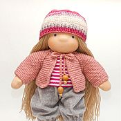 Stuffed Toys handmade. Livemaster - original item Handmade doll, 31 cm, set of clothes. Handmade.