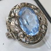 Кольца винтажные ручной работы. Ярмарка Мастеров - ручная работа Старинное серебряное кольцо 800 пробы. Handmade.