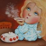 Наивная живопись, роспись Шерова Е. - Ярмарка Мастеров - ручная работа, handmade