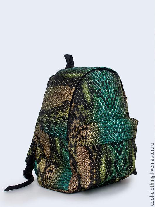"""Рюкзаки ручной работы. Ярмарка Мастеров - ручная работа. Купить Рюкзак """"Змея"""". Handmade. Рюкзак, женский рюкзак, сумка"""