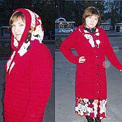 """Одежда ручной работы. Ярмарка Мастеров - ручная работа Пальто """"Кармин"""". Handmade."""
