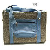 Для домашних животных, handmade. Livemaster - original item Felt carrying bag for small dog. Handmade.