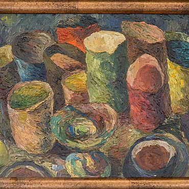 Картины и панно ручной работы. Ярмарка Мастеров - ручная работа Сосуды, кувшины, чаши. Handmade.