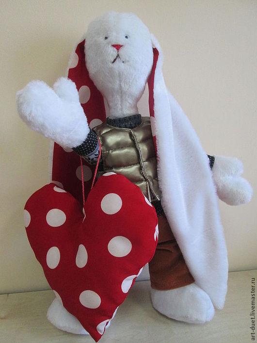 Игрушки животные, ручной работы. Ярмарка Мастеров - ручная работа. Купить Длинноухий заяц. Handmade. Игрушка ручной работы