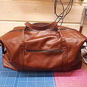Сумки и аксессуары handmade. Livemaster - original item Road leather bag 35. Handmade.