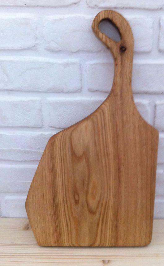 Кухня ручной работы. Ярмарка Мастеров - ручная работа. Купить Доска разделочная из дуба. Handmade. Доска разделочная, дуб, доска