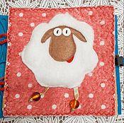 Куклы и игрушки ручной работы. Ярмарка Мастеров - ручная работа Книжка из фетра 0+. Handmade.
