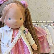 Куклы и игрушки handmade. Livemaster - original item Lily - Waldorf doll. Handmade.